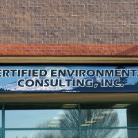 A single faced illuminated fascia sign with digitally printed sign face.