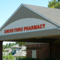Single faced non-illuminated fascia sign with dimensional lettering.
