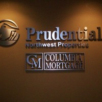 Single faced non-illuminated interior wall sign with dimensional lettering and logo.