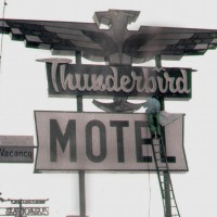 A Garrett Sign Company classic built circa 1960.