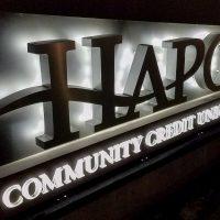 HAPO Community Credit Union Monument Sign